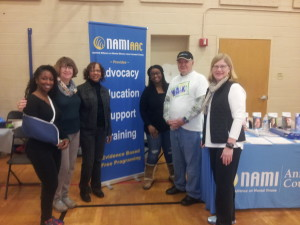 Homeless Resource Day - banner & table